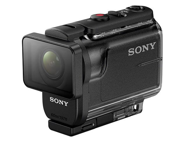Action Cam Sony con Estuche Marino y Fotos 4K- HDR-AS50