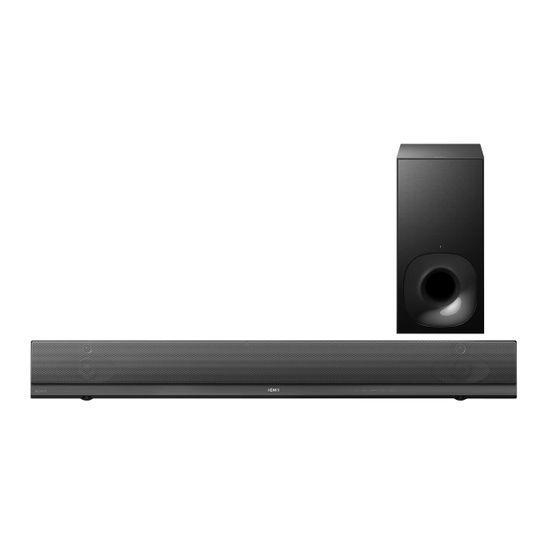 Barra de sonido de 2.1 canales con High-Resolution Audio y Wi-Fi®