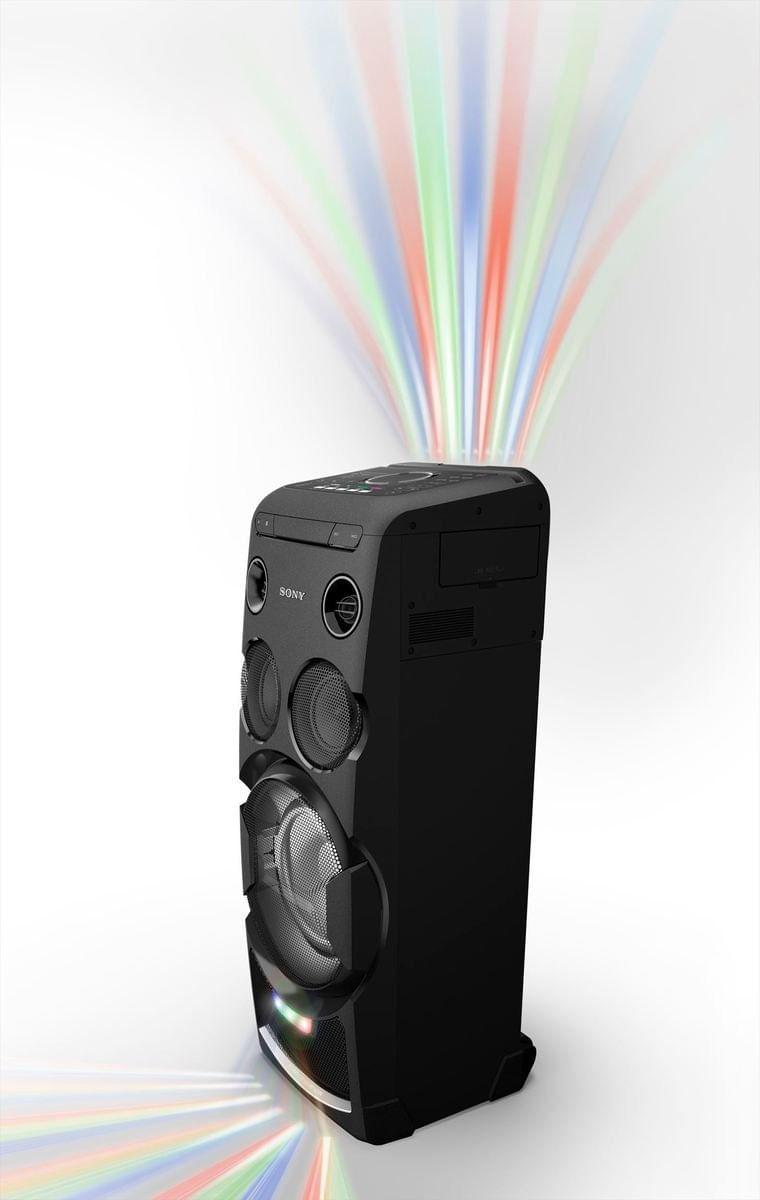 Minicomponente Sony de alta potencia y Bluetooth -MHC-V77D