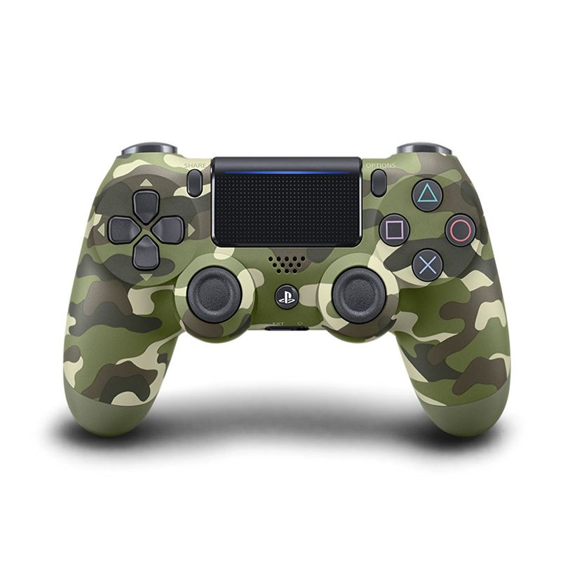 Control Dualshock4 Sony para PS4 Green Camouflage-CUHZCT2U
