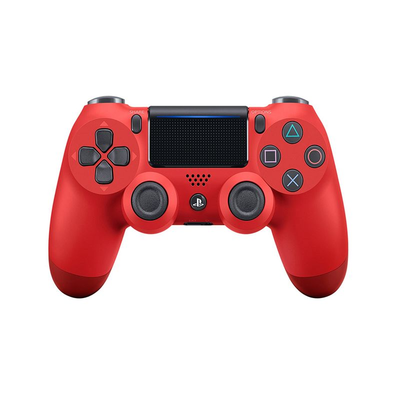 Control Dualshock 4 Sony para PS4 Magma Red - CUH-ZCT2U