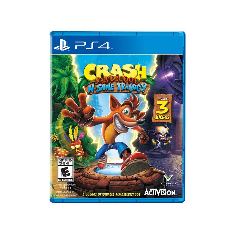 Juego PS4 Crash Bandicoot N. Sane Trilogy - G0005253